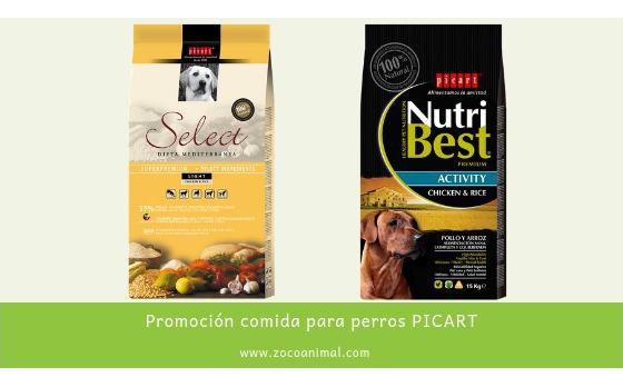Promoción comida para perros PICART